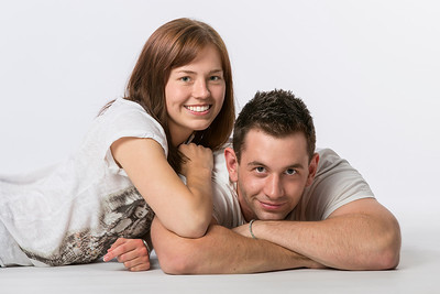 Portrait couple by Infocus photography & video