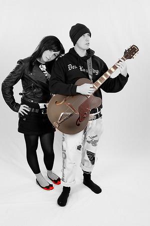 Rockabilly duo.